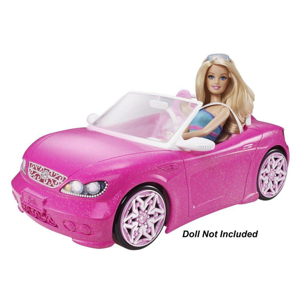 barbie glam convertible car buy online in south africa. Black Bedroom Furniture Sets. Home Design Ideas