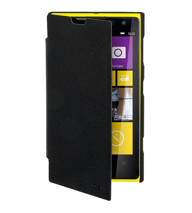nokia lumia 1020 black. mozo nokia lumia 1020 flip cover - black .