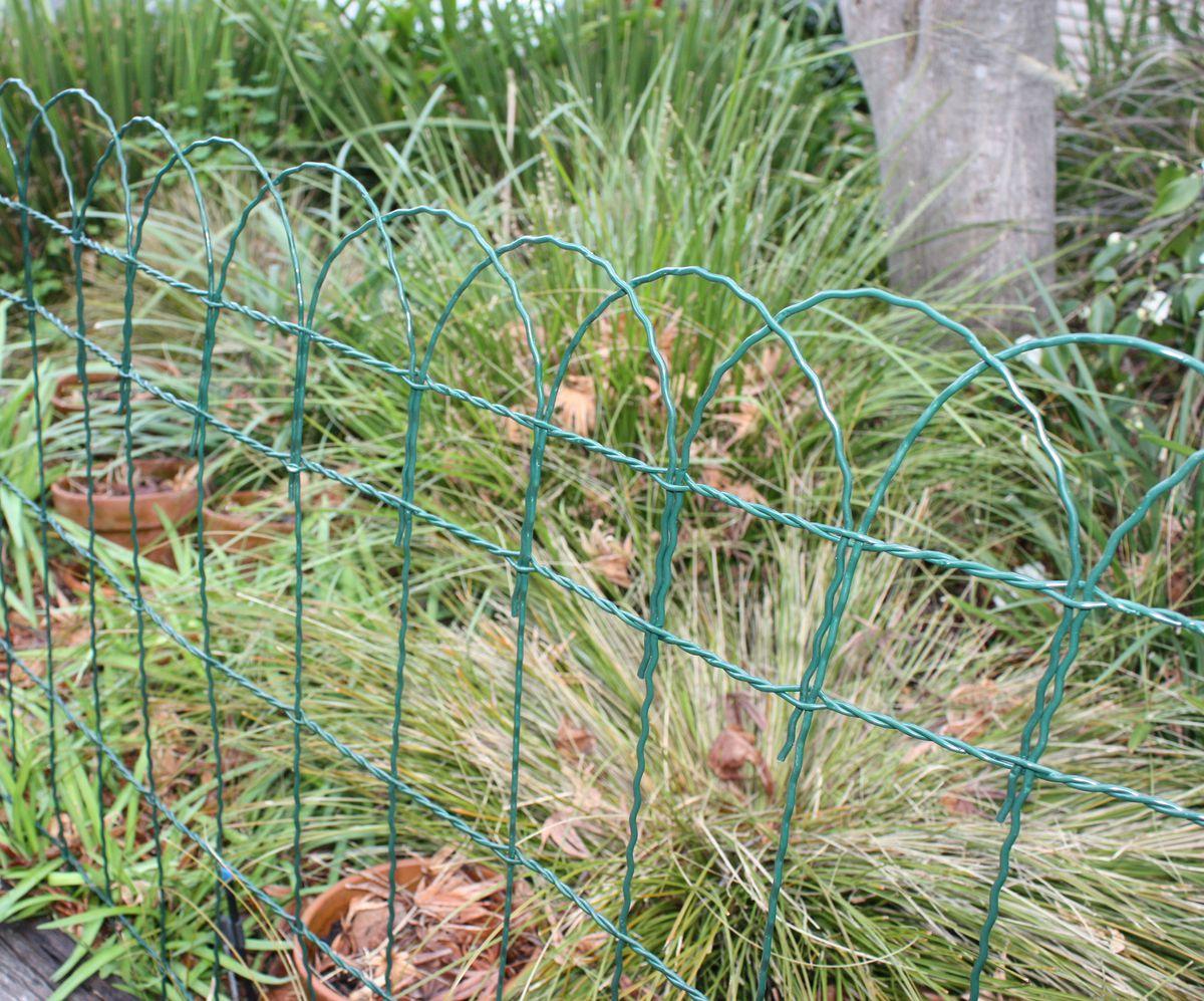 Coolaroo garden border fencing green buy online in