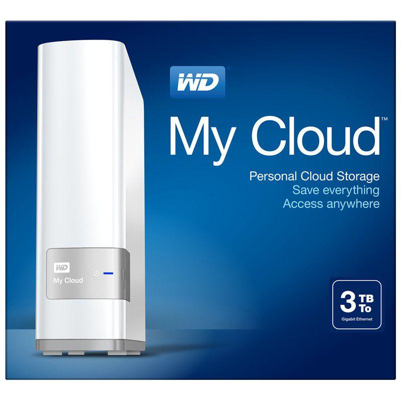 western digital wd my cloud 3tb personal cloud storage. Black Bedroom Furniture Sets. Home Design Ideas