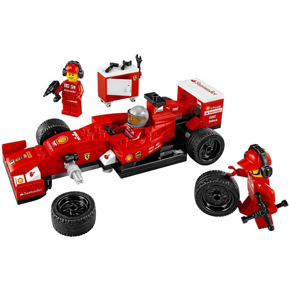 lego speed champions f14 t scuderia ferrari truck buy online in south africa. Black Bedroom Furniture Sets. Home Design Ideas