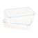 Snappy - Rectangular Promotional Food Storage Container Set - 2 Piece