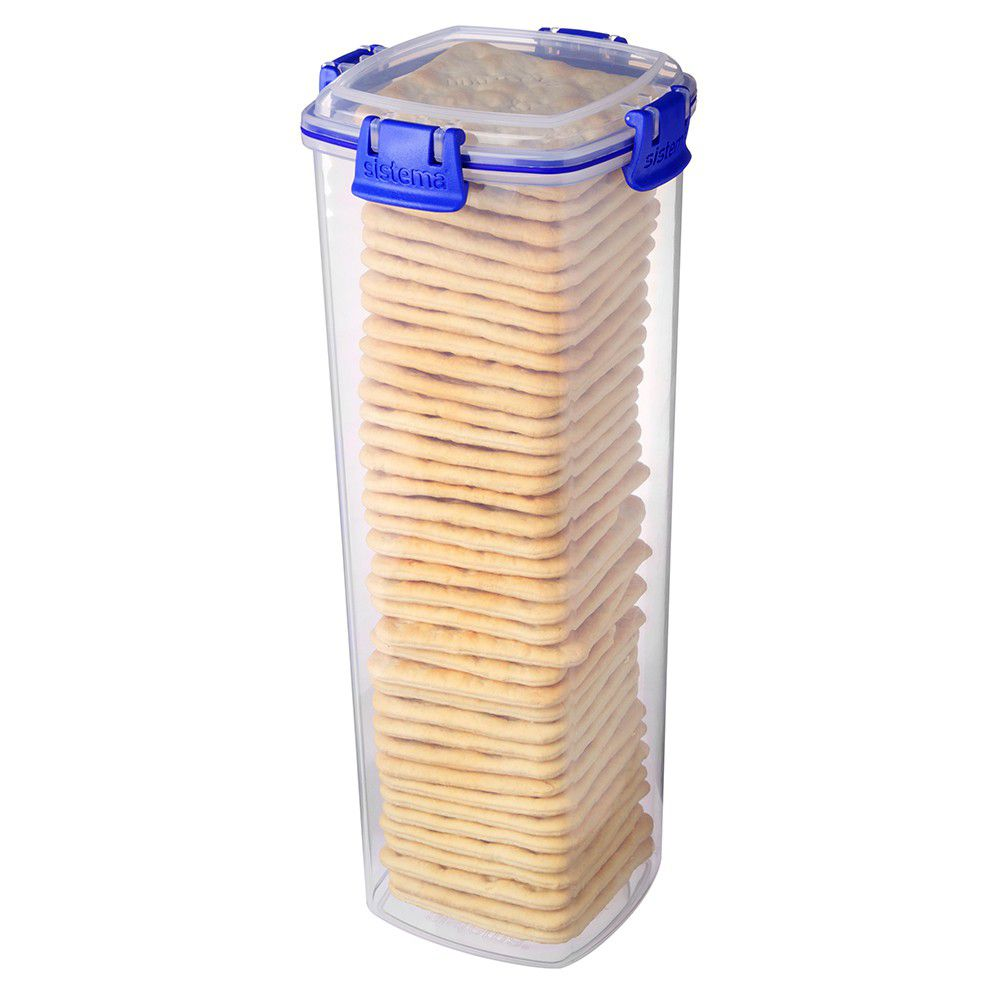 ... Sistema   Klip It   1.8 Litre Cracker Storage Container