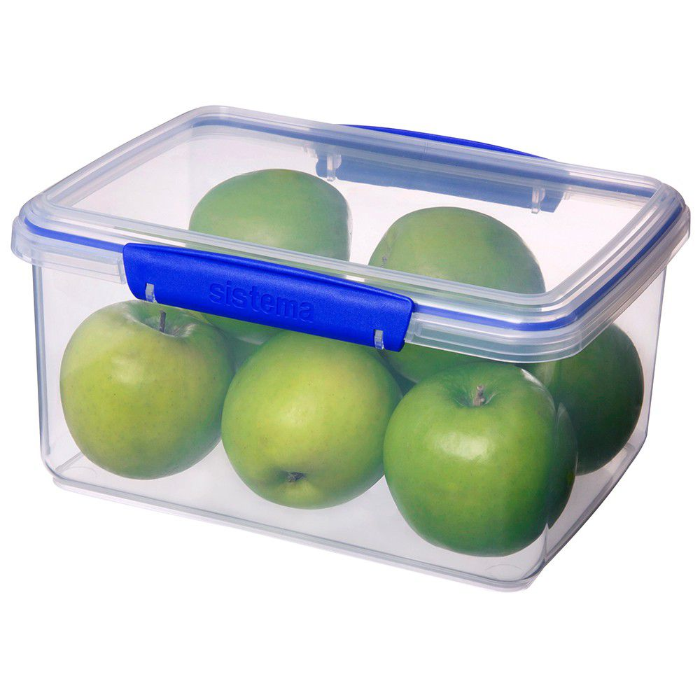 ... Sistema   Klip It   3 Litre Rectangular Food Storage Container