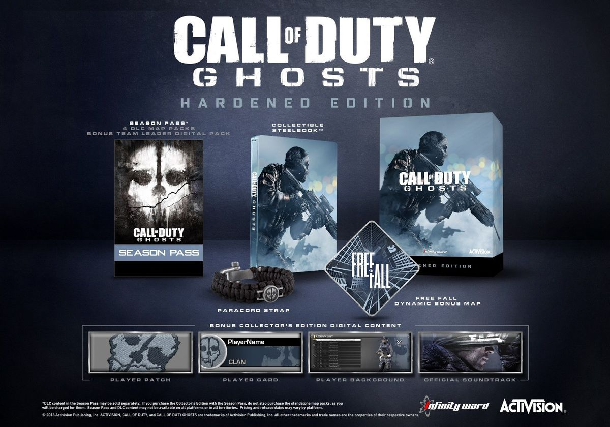 ... Call of Duty: Ghosts Hardened Edition (Xbox 360)