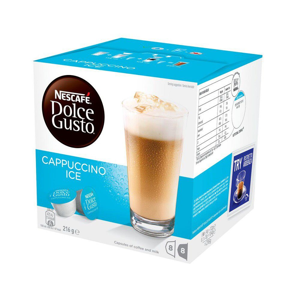 nescafe dolce gusto cappuccino ice coffee capsules 12224808 buy online in south africa. Black Bedroom Furniture Sets. Home Design Ideas