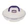 Lock and Lock - Round Chip and Dip Container With Handle - 2.3 Litre