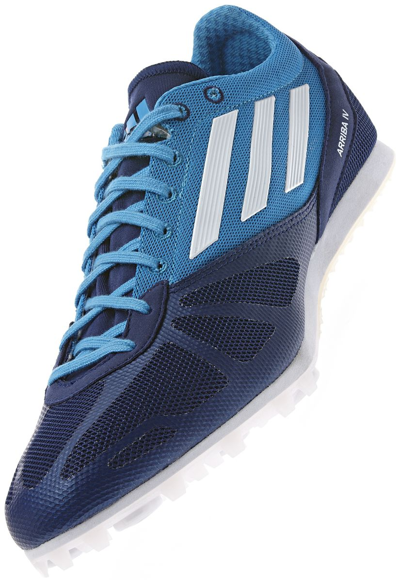 arriba men Super fast, this high school running spike is upgraded with a pebax plate and a soft sock-like fit it's ultimate propulsion and responsiveness at a great va.