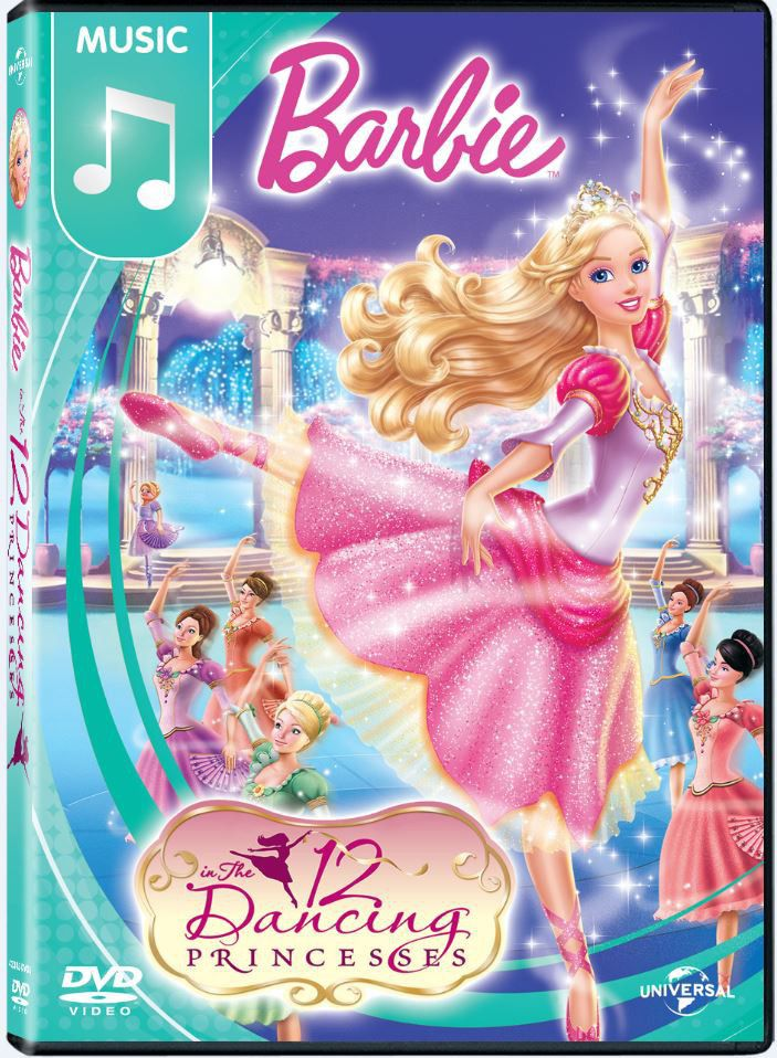 Barbie in the 12 dancing princesses dvd buy online in south africa - Barbie and the 12 princesses ...
