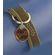 Rogz - Fancy Dress 20mm Dog Collar - Bronze Bone