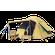 Bushtec - Gemsbok 6 Person Canvas Dome Tent - Khaki