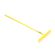 Lasher Tools - 16 Tooth Garden Rake - Yellow