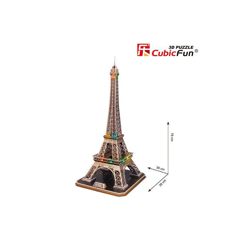 3d led puzzle eiffelturm