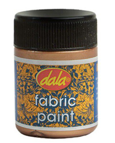 dala fabric paint metallic 50ml silver buy online in south