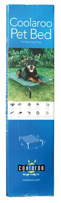 coolaroo elevated dog bed extralarge