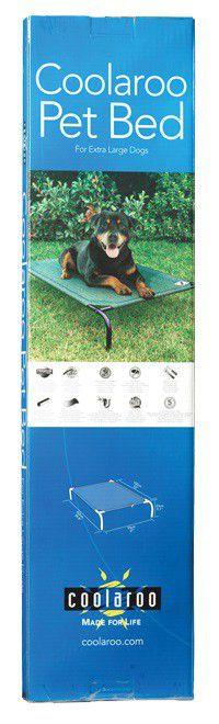 coolaroo elevated dog bed extralarge