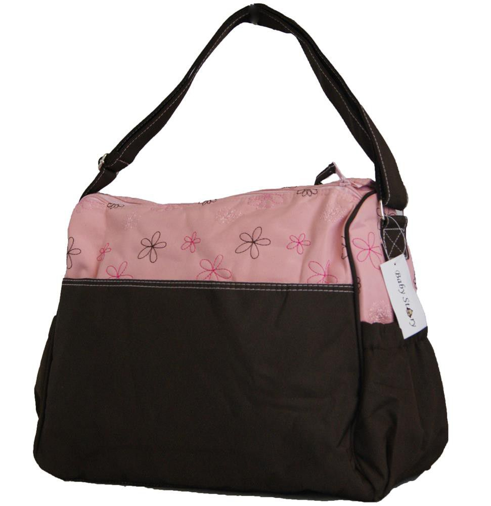 fino baby diaper shoulder bag organizer bs 13609 pink brown buy online in south africa. Black Bedroom Furniture Sets. Home Design Ideas
