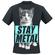 Kitty Mens Tank Shirt Black (Size: 2XL)