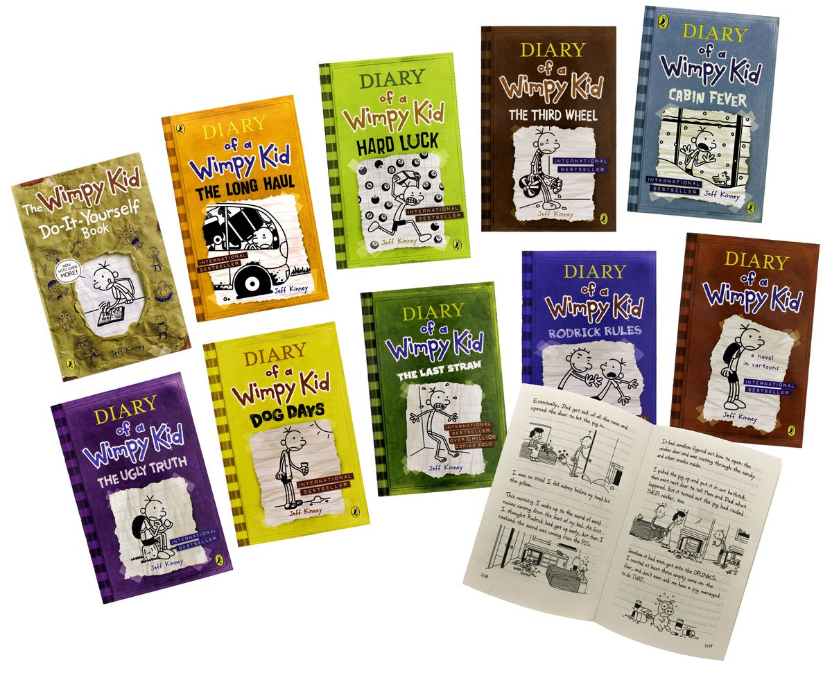Diary of a wimpy kid 10 book set parallel import buy online in diary of a wimpy kid 10 book set parallel import solutioingenieria Images