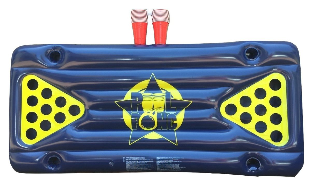 Beer pong table dimensions - Poolpong Inflatable Beer Pong Table