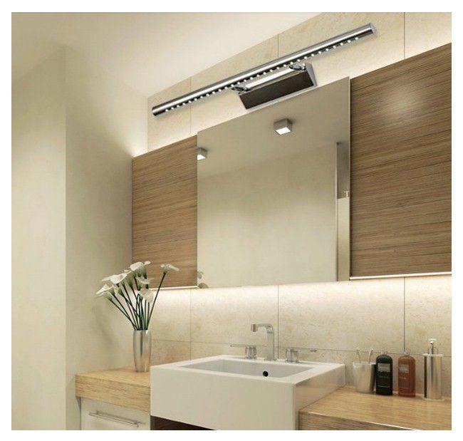 Bathroom Lights Pretoria 5 watt stainless steel energy-saver led wall bathroom mirror light
