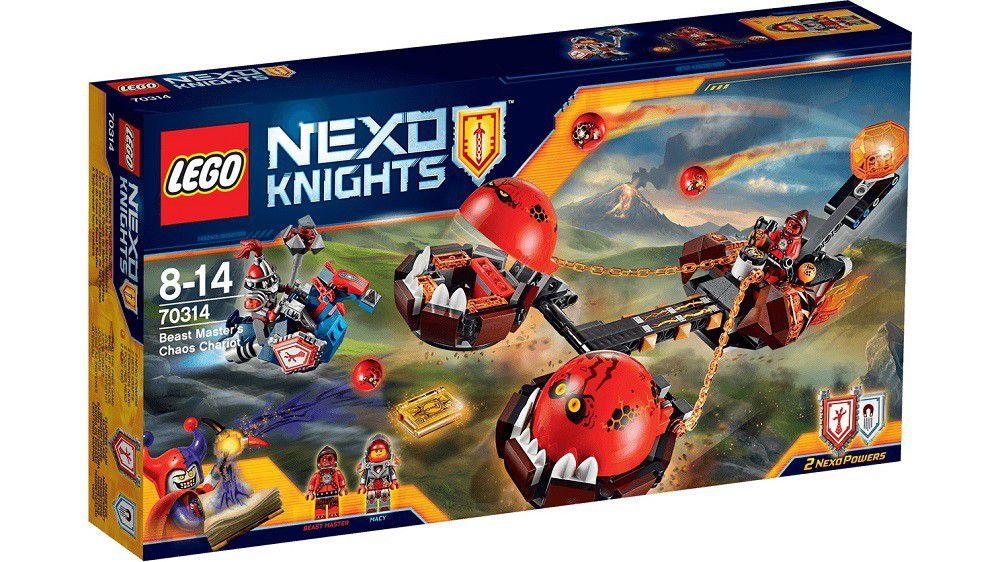 Lego Nexoknights Lego Nexo Knights Beast Master's Chaos Chariot ...