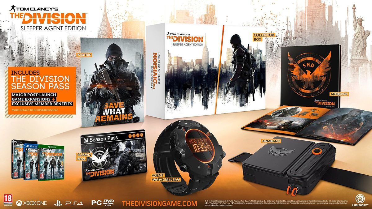 Tom clancys the division sleeper agent edition ps4 buy online tom clancys the division sleeper agent edition ps4 fandeluxe Images