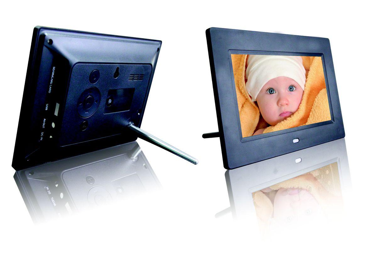Fotomate 7\'\' Fm110 Digital Photo Frame - Black   Buy Online in South ...