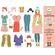 Djeco Paper Dolls - One Big Dressing Room