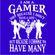 JuiceBubble I'm a gamer Men's Royal Blue T-Shirt