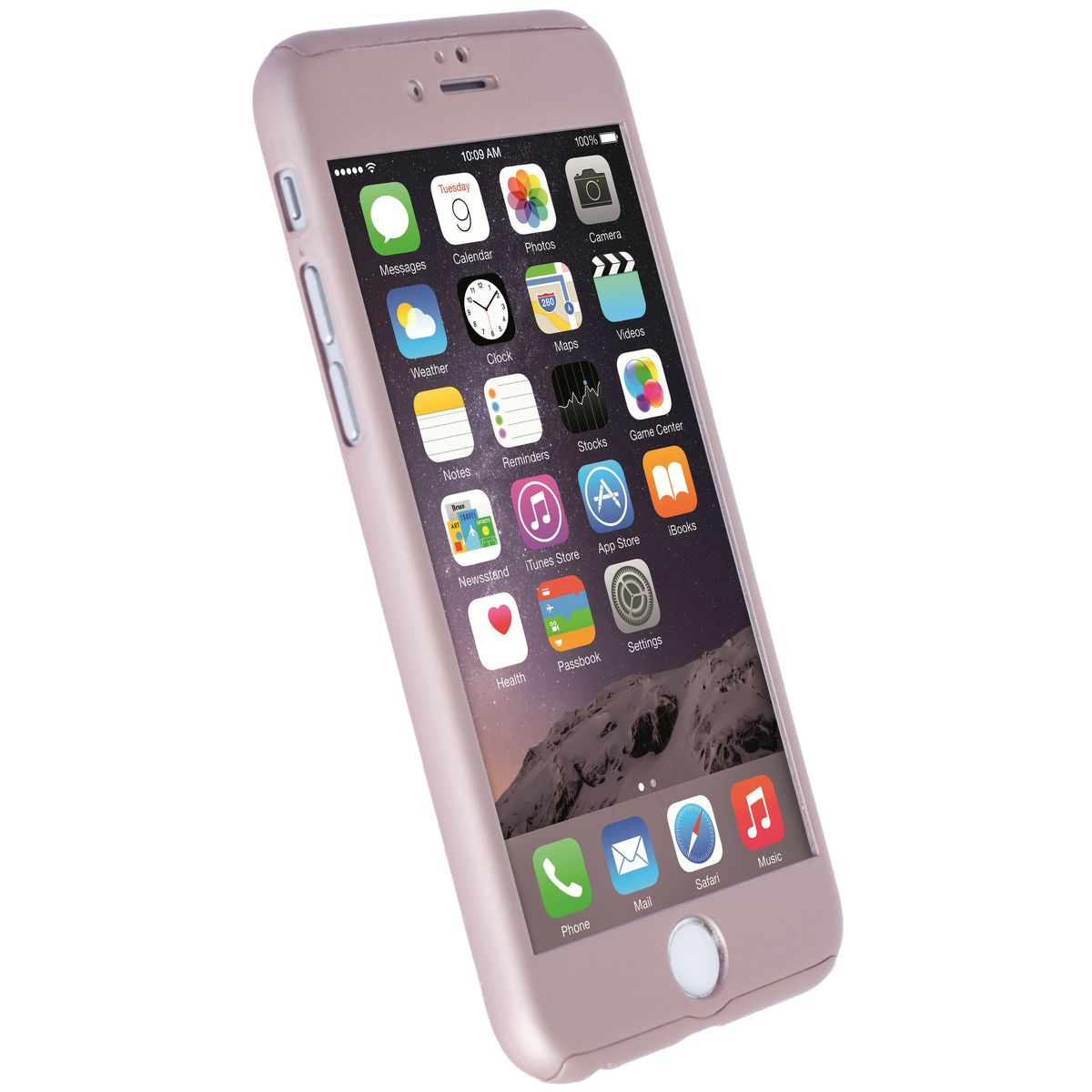apple iphone 6s rose gold. krusell arvika cover for apple iphone 6/6s - rose gold (includes glass screen iphone 6s
