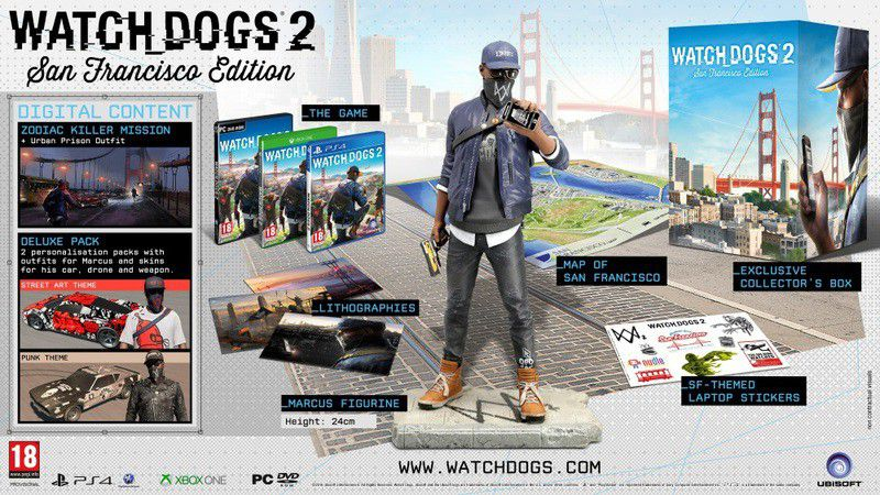 ... Watch Dogs 2 San Francisco Edition (PS4)