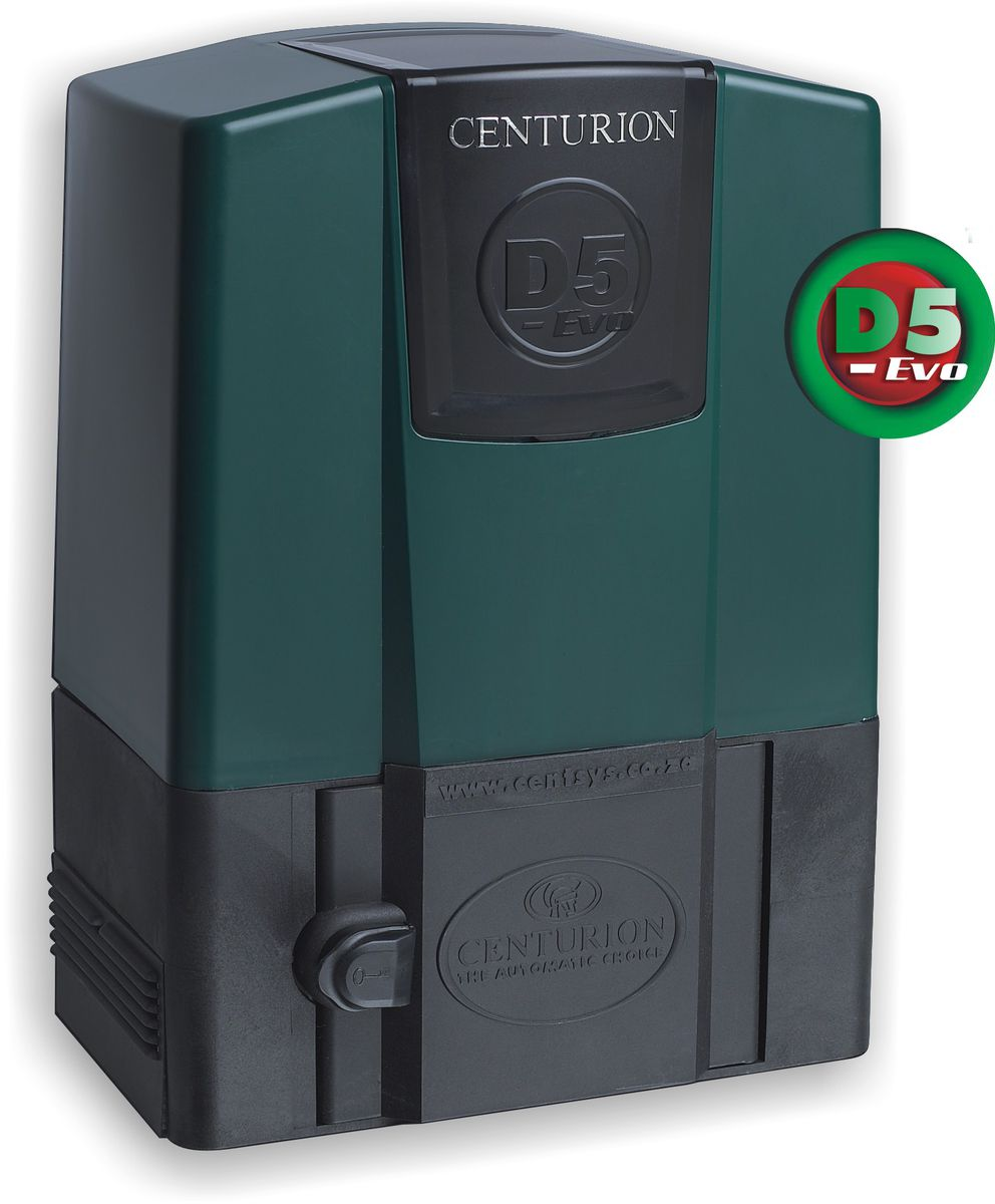 Centurion d5 evo gate motor motor only buy online in for Electric gate motor installation