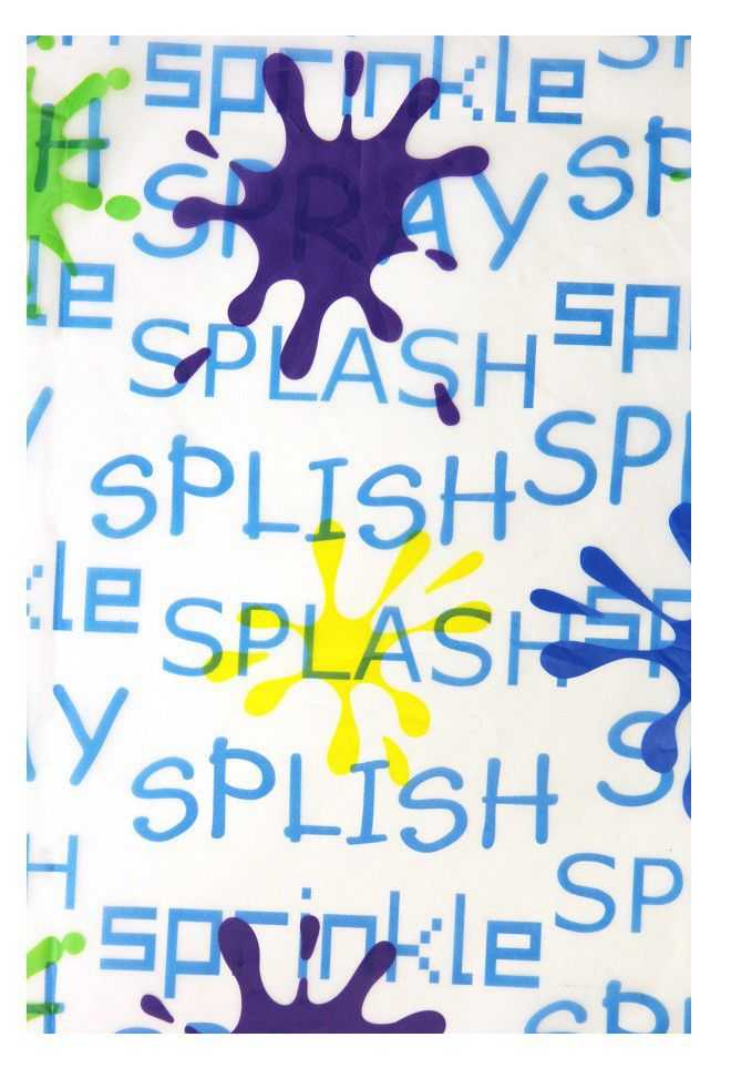 The Bathroom Shop   Shower Curtain Peva   Splash ...