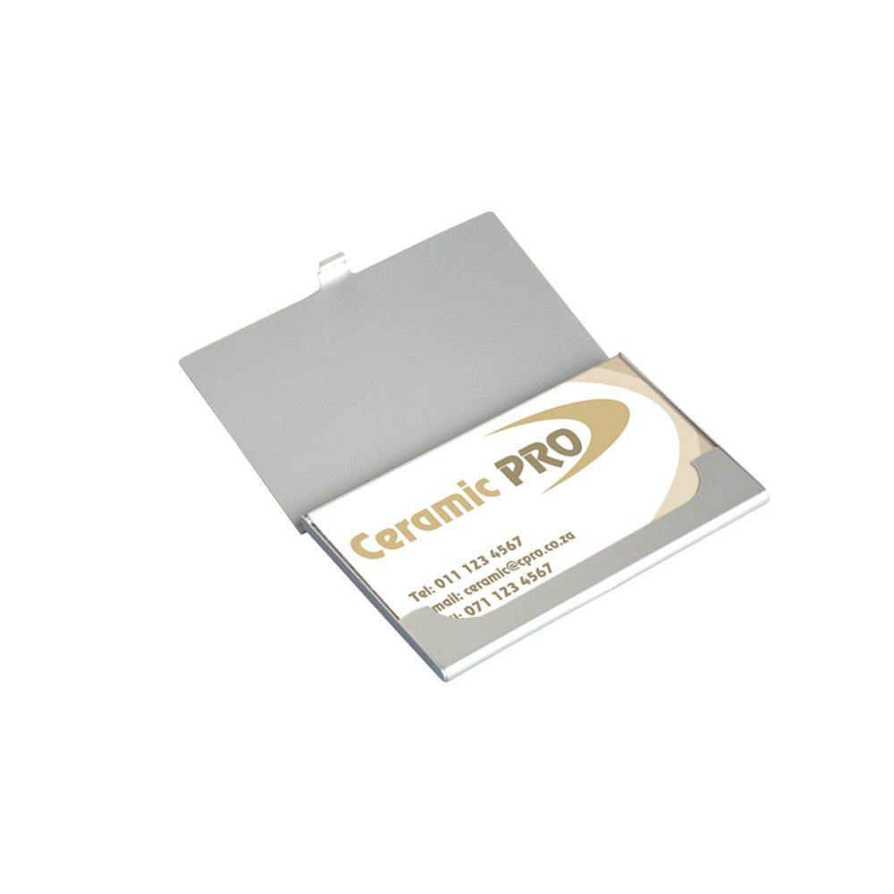 Eco Everyday Aluminium Business Card Case | Buy Online in South ...
