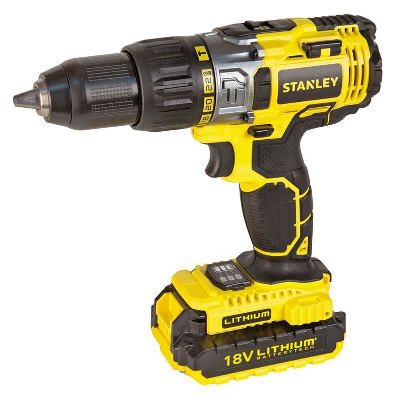 Stanley Tools - 18v Cordless Drill - Yellow | Buy Online in South ...