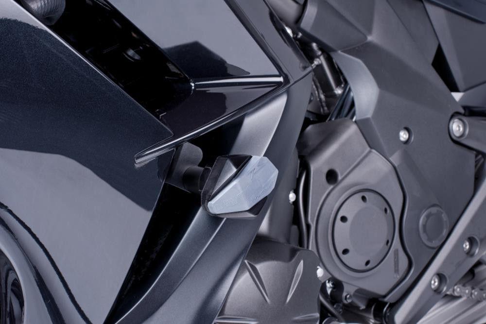 Puig R12 Frame Sliders For Suzuki Gsx-r1300 Hayabusa (08-12) - Black ...