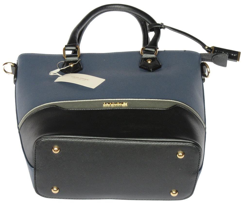 David Jones Kitchen Appliances David Jones Pu Leather Tote 5265 4 Dark Blue Buy Online In