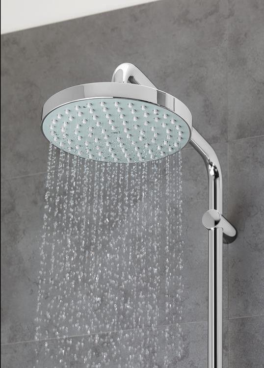 grohe new tempesta 20 cm head shower