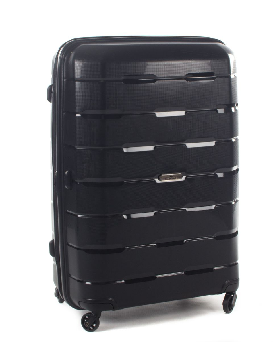 Luggage With Drawers Travelite Extender Trolley Case Black 70cm Buy Online In South