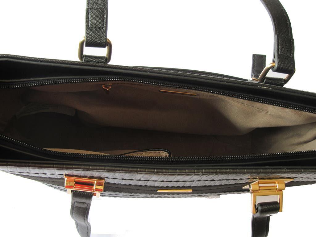 David Jones Kitchen Appliances David Jones Pu Leather Tote Black 5267 2 Buy Online In South