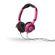 SkullCandy Lowrider 2.0 Headphones With Mic - Pink/Black
