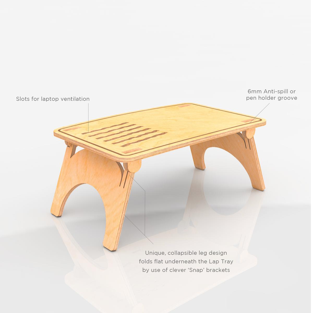 Deskstand Sit Stand Lap Table