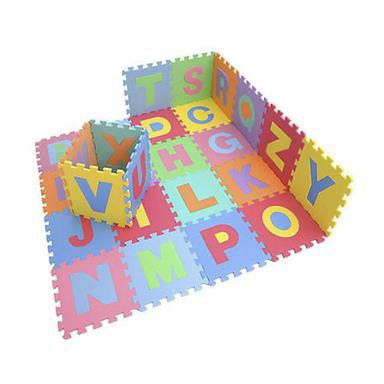 educational abc eva foam floor mat alphabet puzzle mat for kids colourful anti slip play mat. Black Bedroom Furniture Sets. Home Design Ideas