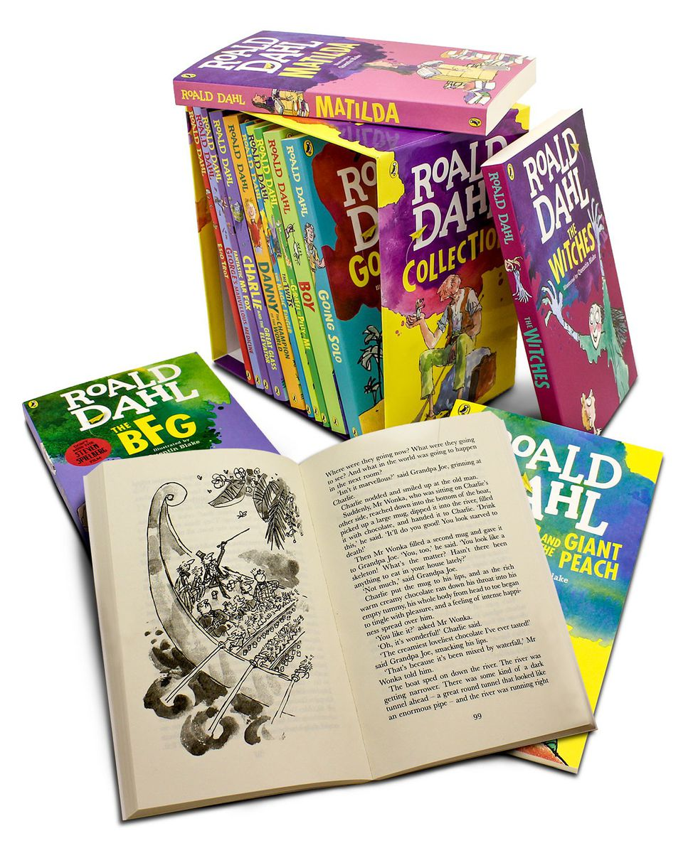 Roald dahl 15 book collection new edition buy online in south roald dahl 15 book collection new edition fandeluxe Choice Image