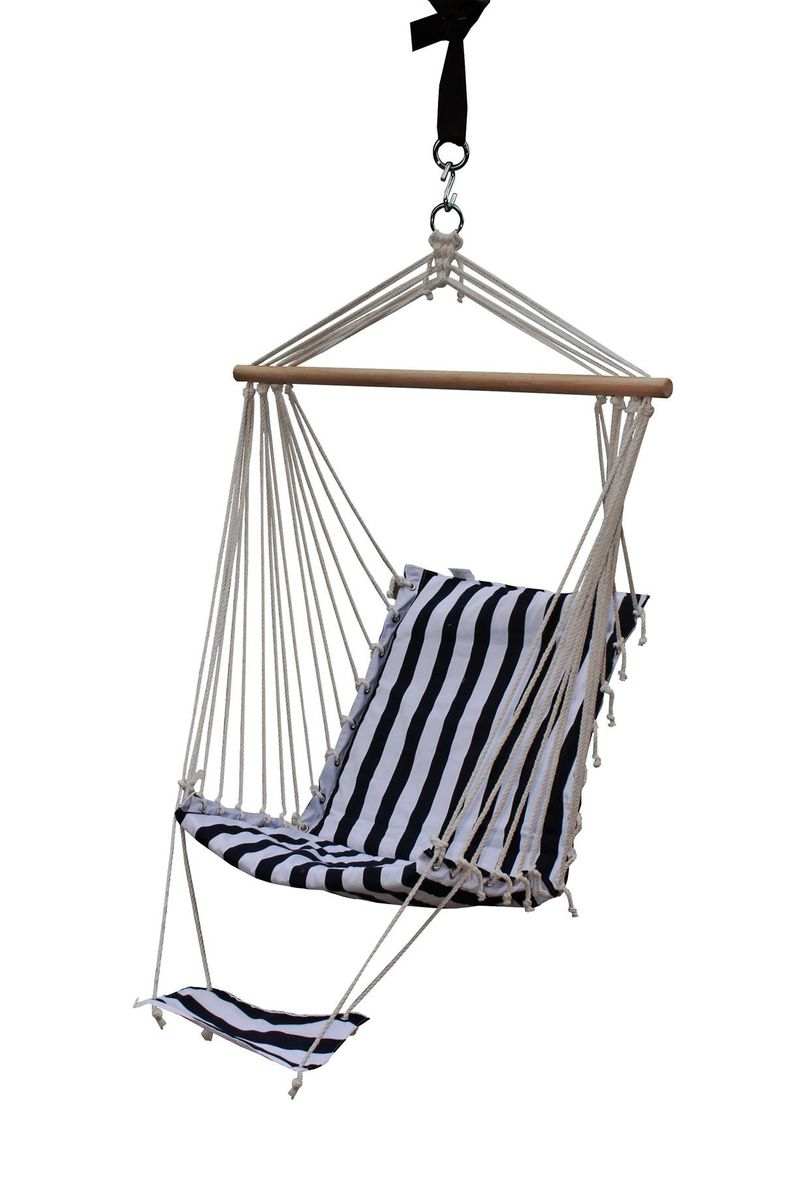 Fine Living Hanging Chair With Foot Hammock Buy Online