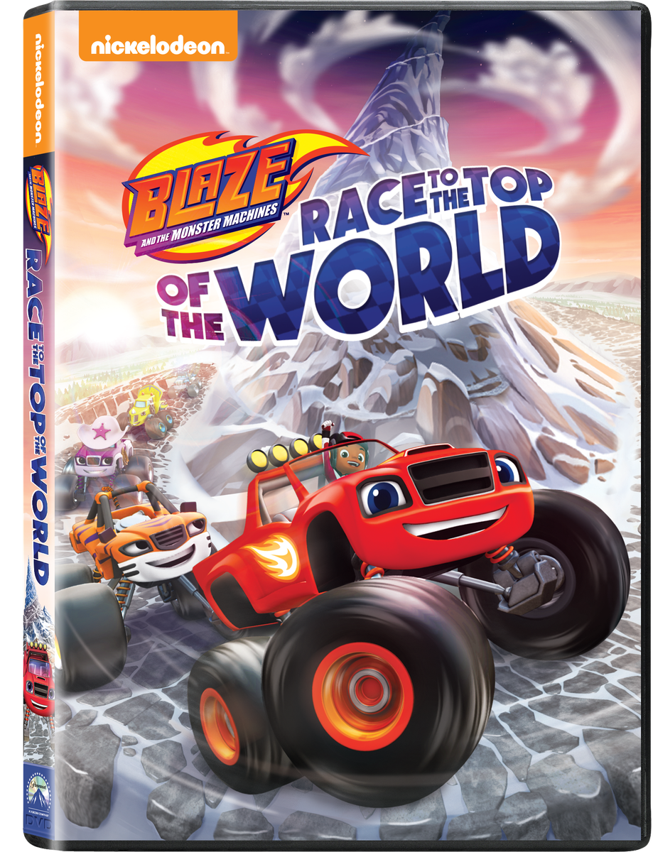 Blaze & The Monster Machines Race To The Top Of The World ...
