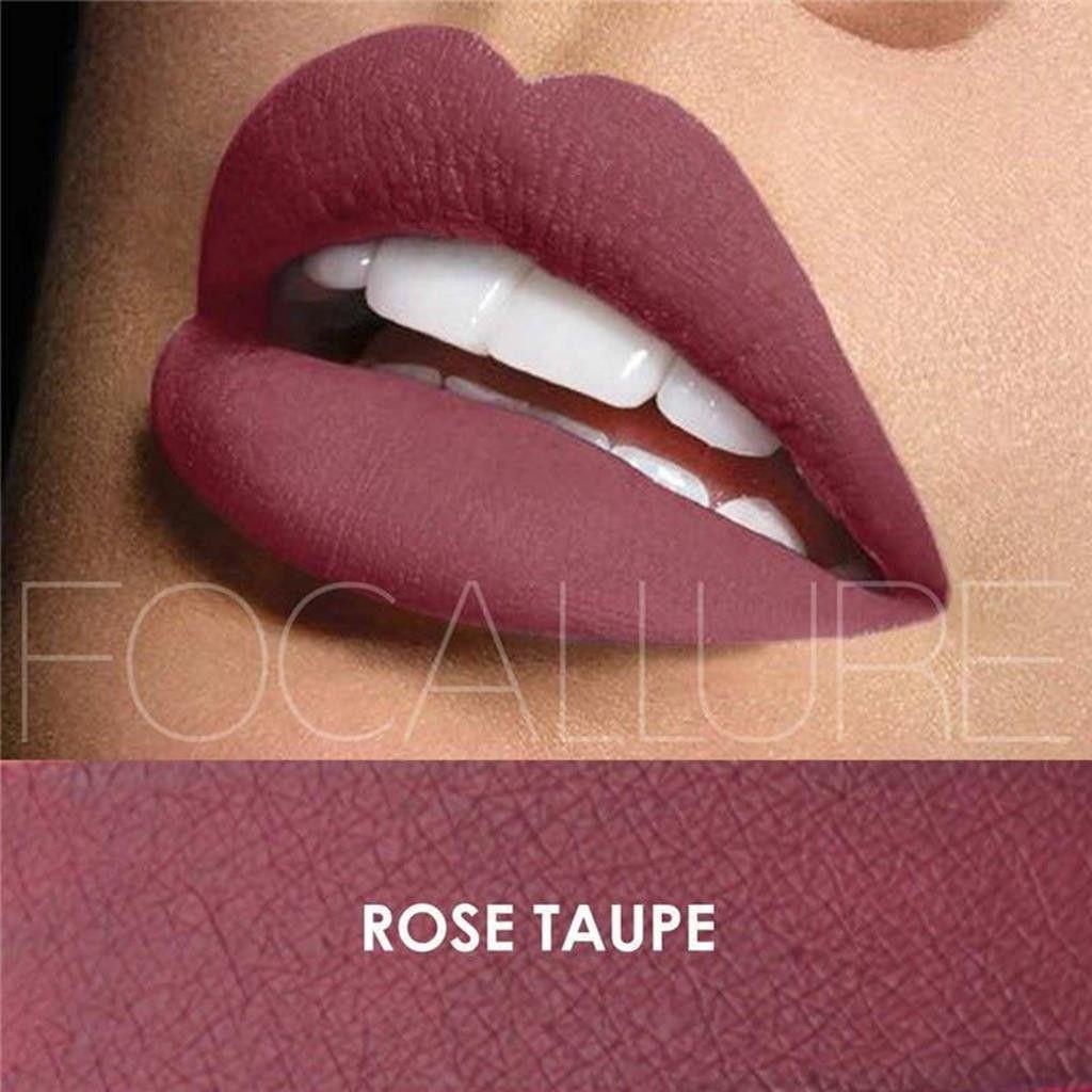 Focallure Cosmetics Focallure Matte Liquid Lipstick - Rose Taupe ...