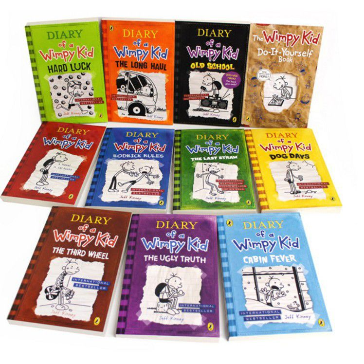 Diary of a wimpy kid 11 book set buy online in south africa diary of a wimpy kid 11 book set solutioingenieria Gallery