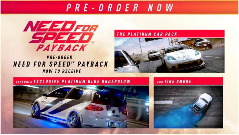 need for speed payback ps4 buy online in south africa. Black Bedroom Furniture Sets. Home Design Ideas